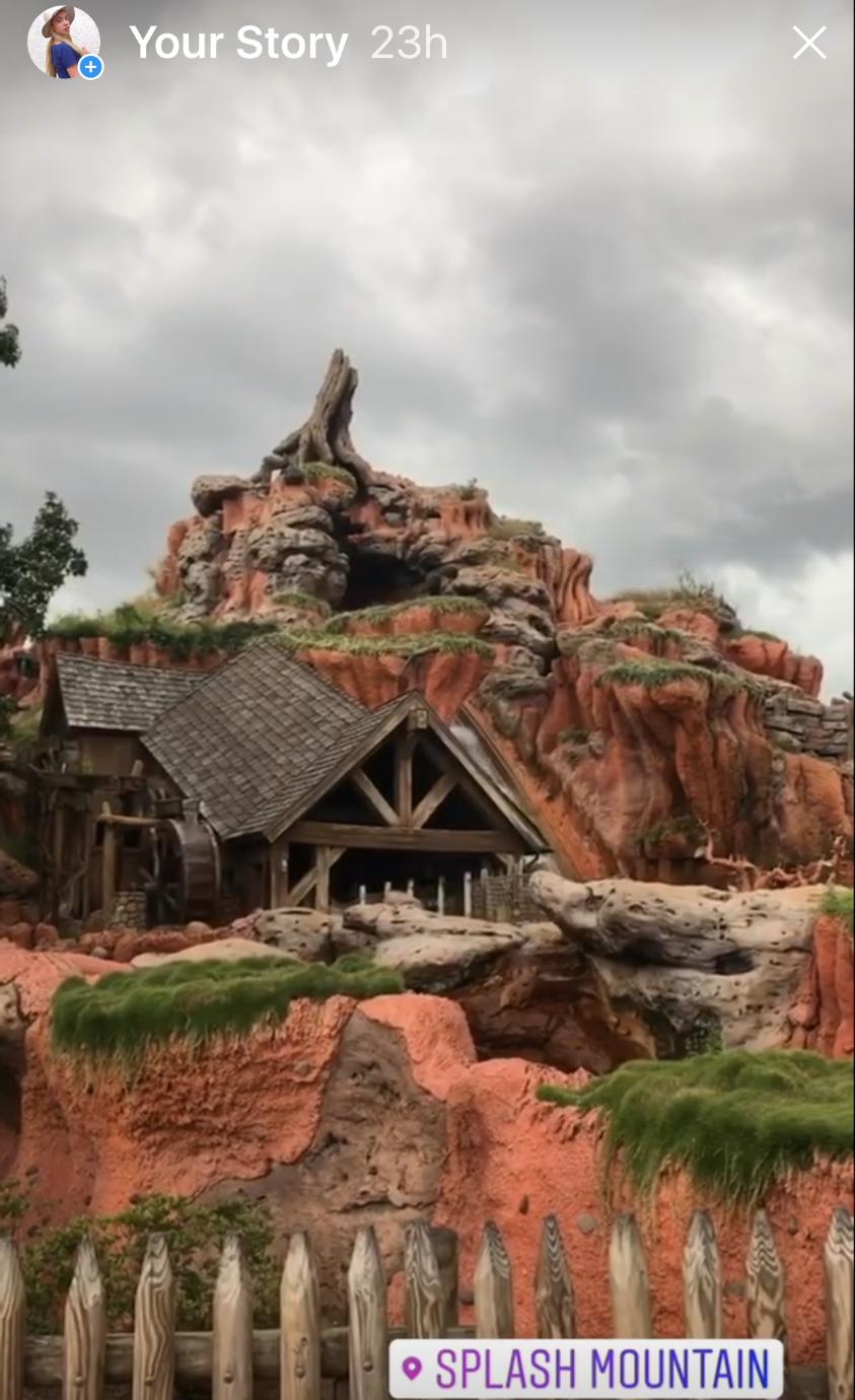 Splash Mountain at Magic Kingdom - Katrina Belle Beauty - Disney blogger