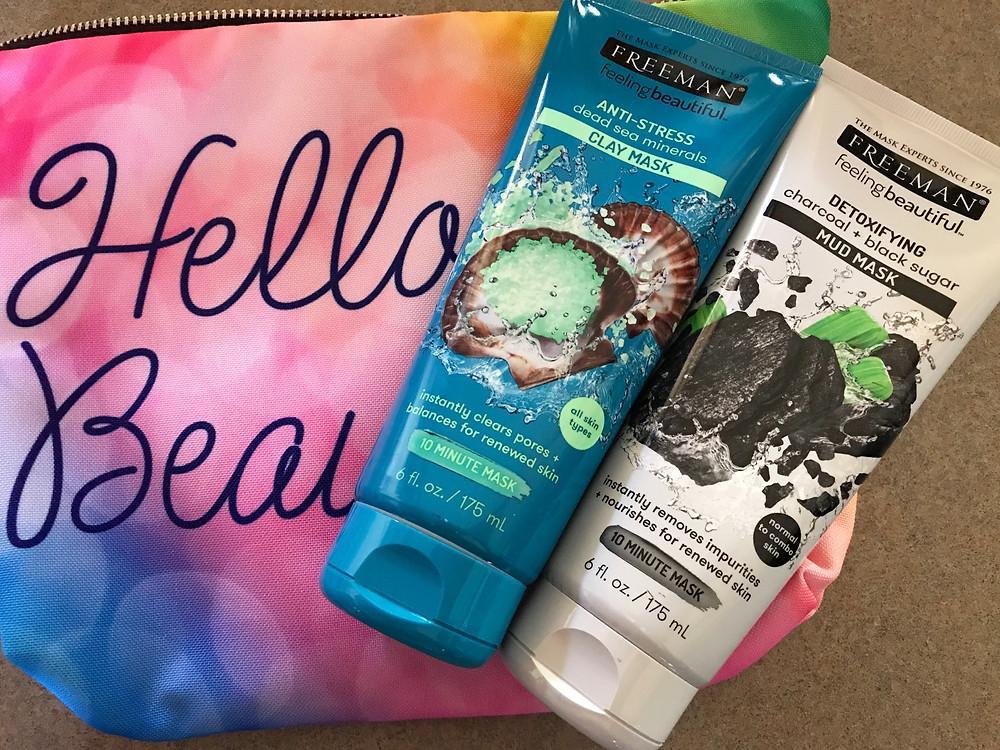Freeman Masks - Detoxifying Mud Mask - Anti Stress Blue Clay Mask - Katrina Belle Beauty