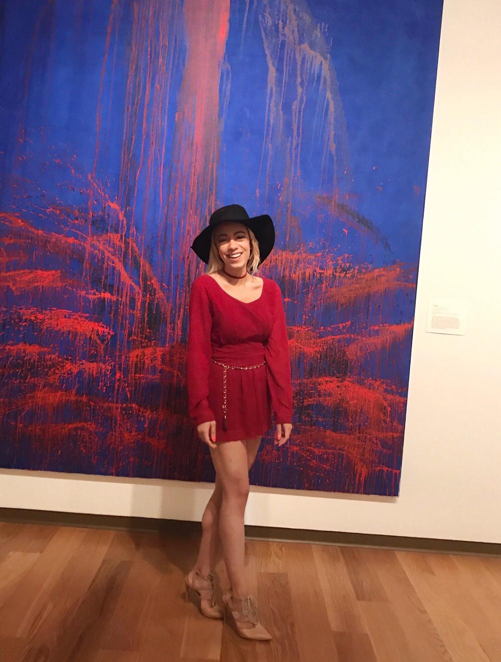 Katrina Belle - Katrina Belle Beauty - Orlando fashion blogger - red romper