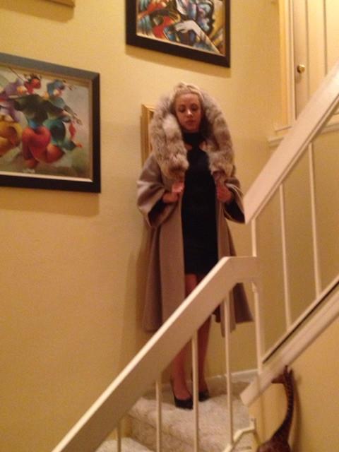 Katrina Belle Beauty - Orlando Florida Fashion blogger - vintage coat modern life