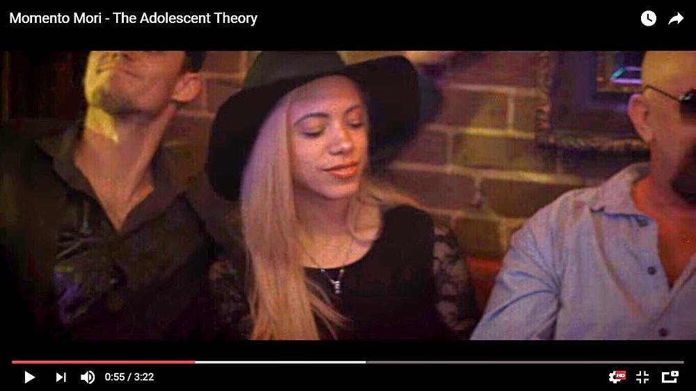 Katrina Belle Beauty - Orlando blogger - Orlando fashion blogger - Downtown Orlando - Music Video - The Adolescent Theory - Memento Mori