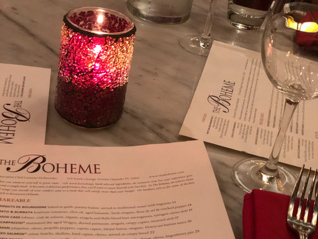 Magical Dining Month at The Boheme