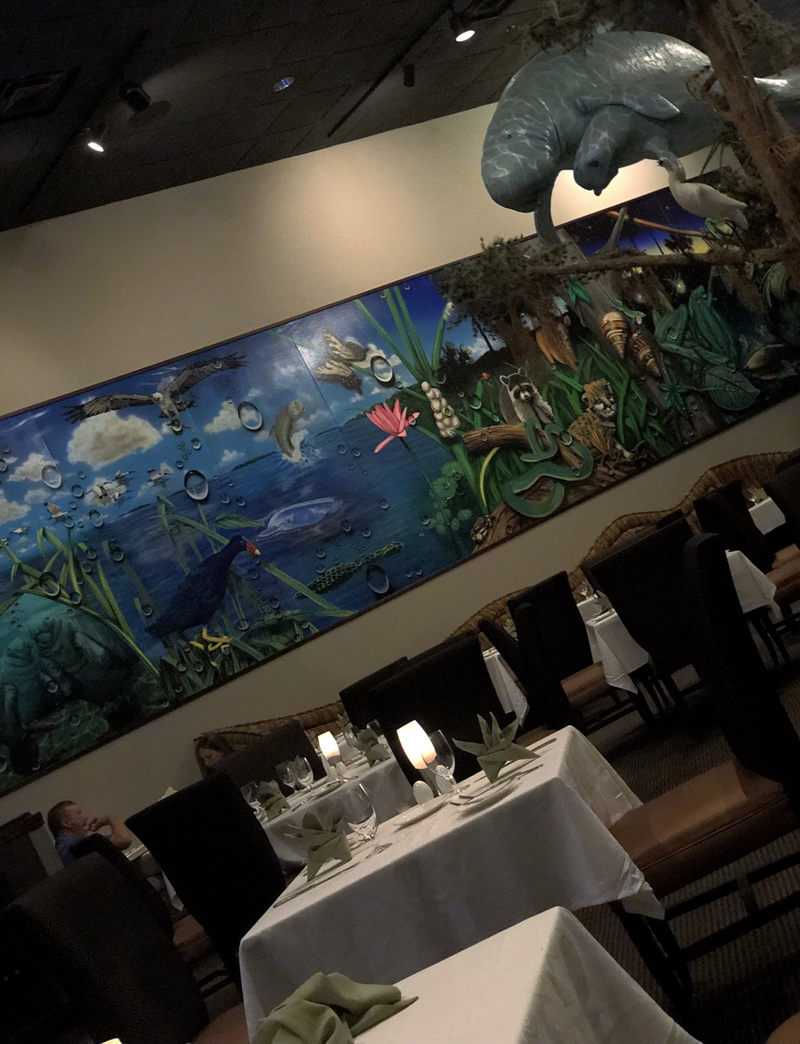 Dining at the Everglades