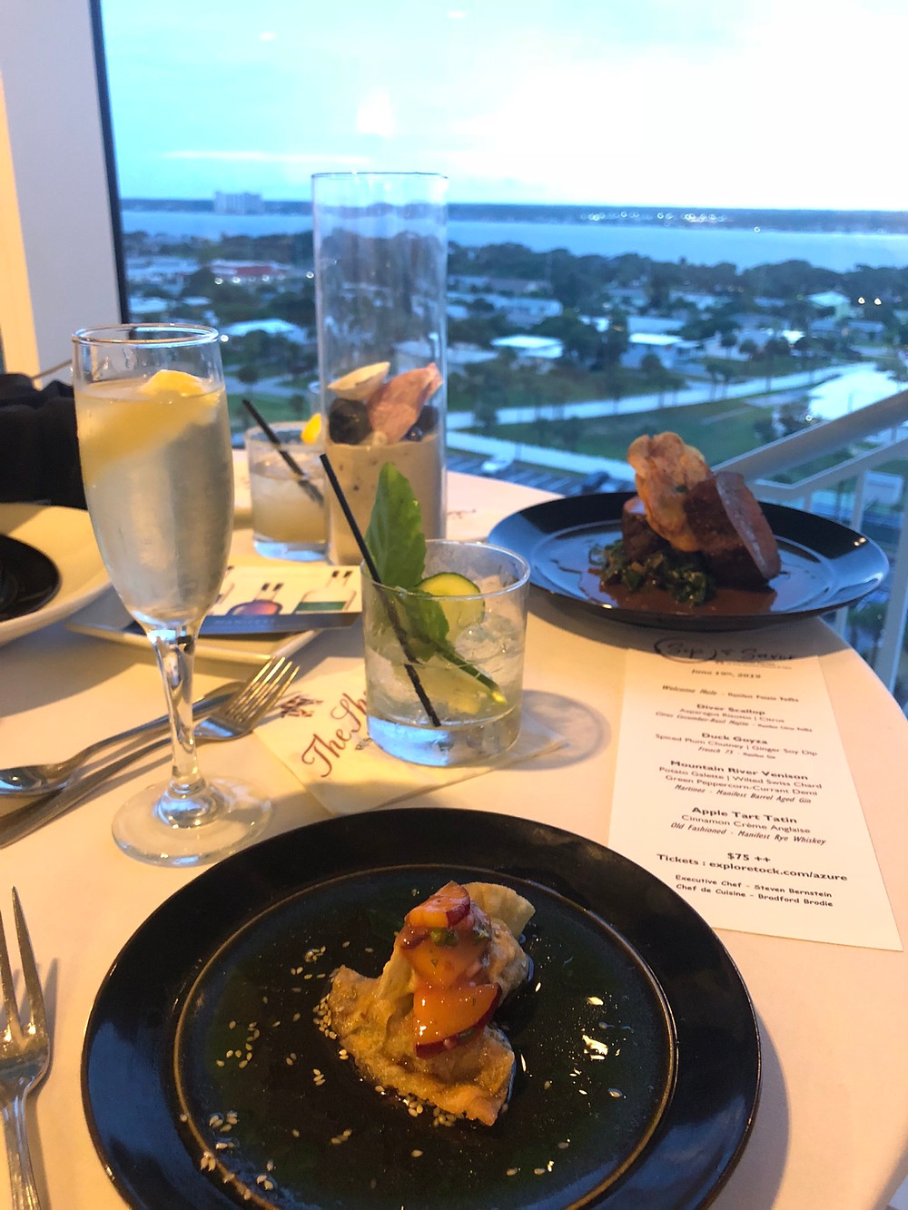 Florida-Travel-Blog-Sip-and-Savor-Dinner-The-Shores-Resort-and-Spa-Daytona-Beach
