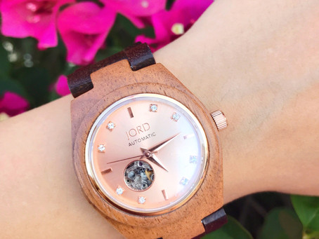 Jord Watches - Wood and Rose Gold