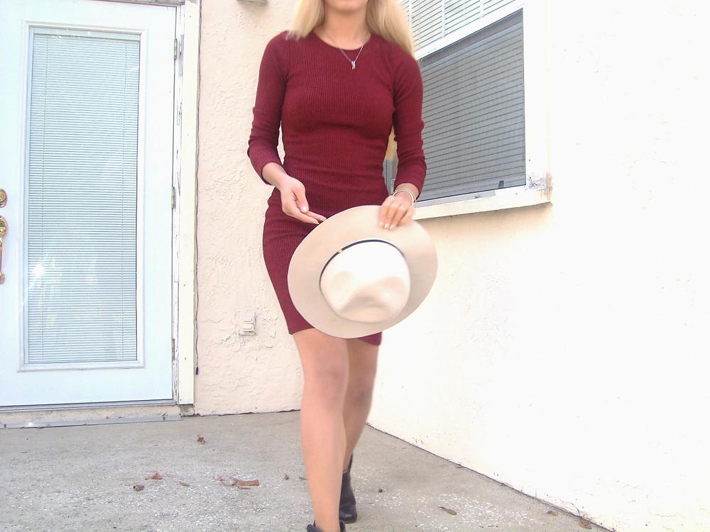 Katrina Belle - Katrina Belle Beauty - Orlando fashion blogger - hat - fashion blogger