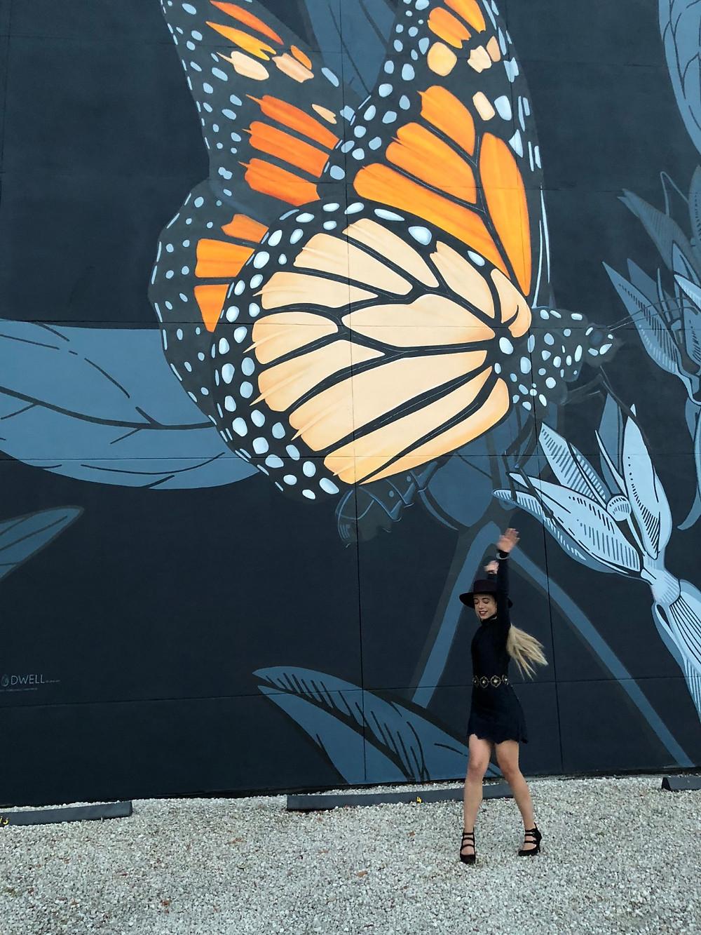 Katrina-Belle-Beauty-Orlando-Fashion-Blogger-Downtown-Orlando-Monarch-Mural