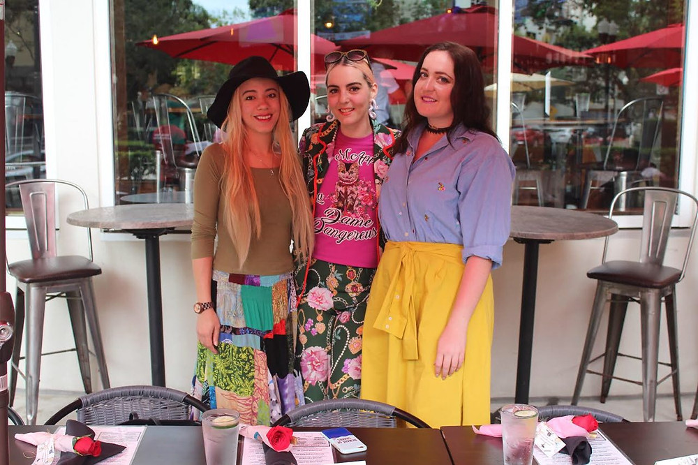 Katrina Belle - Katrina Belle Beauty - with Geometric Eccentric and Romantic Realist Style - Orlando bloggers - Orlando fashion bloggers