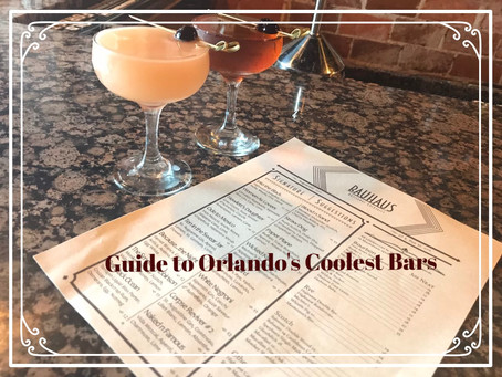 Guide to Orlando's Coolest Bars