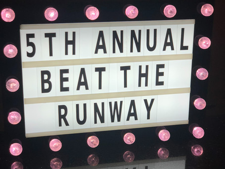 #beattherunway with 104.5 The Beat Radio Station
