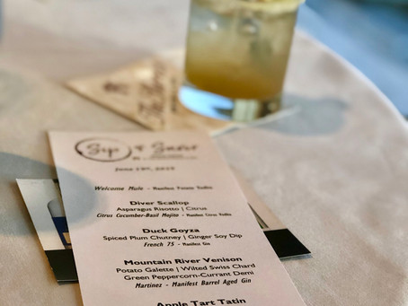 The Sip and Savor Dinner Series:  The Shores Resort & Spa in Daytona Beach