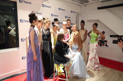Sonjja Baram Fashion show