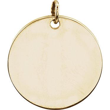 The Minimal Disc Pendant & Necklace