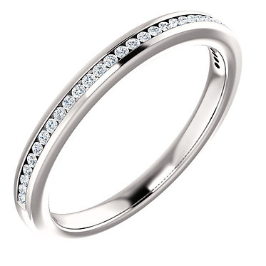 The Channel Set Eternity Ring