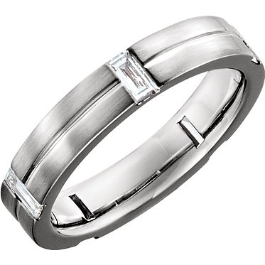 The Baguette Diamond Ring