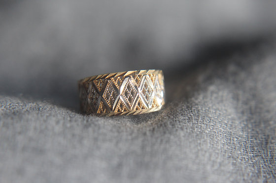 Vintage Inspired Gold Ring