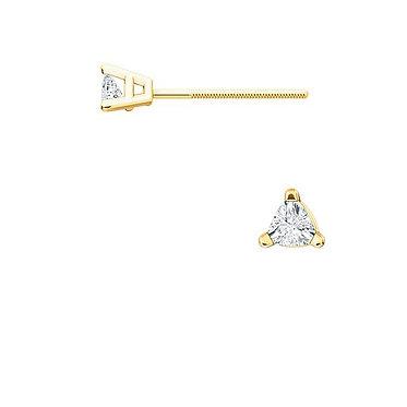 The DIAMOND Triangle Earrings