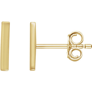The Minimal Bar Earring