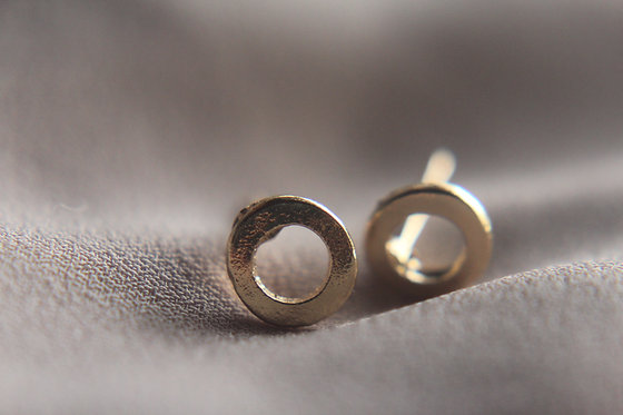Essential Circle Outline Earrings