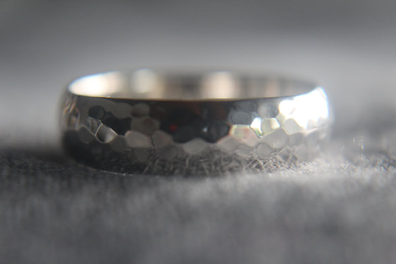The OCEAN hammered Ring