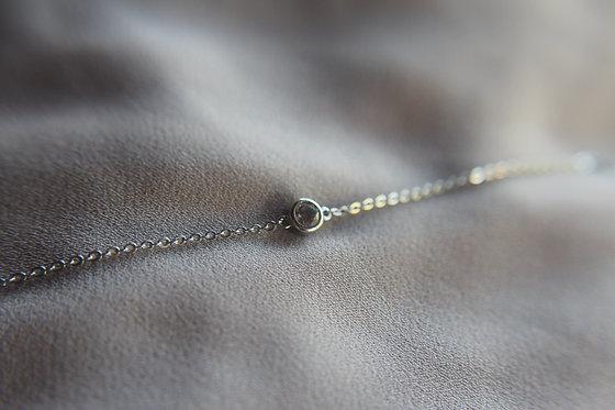 The Minimal Bezel Diamond Bracelet