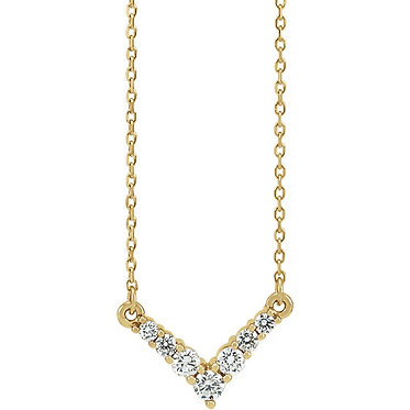 The Essential 7 Diamond Pendant & Necklace