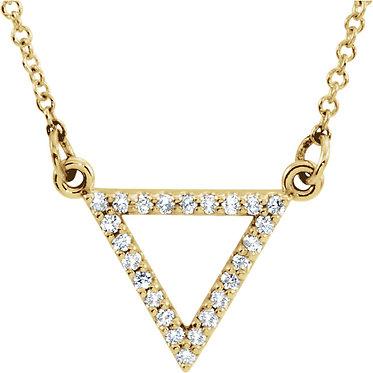 The Diamond Triangle Pendant