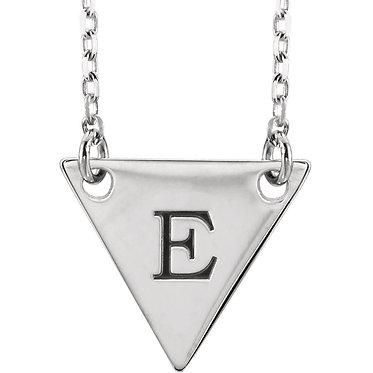 The Minimal Triangle Pendant & Necklace