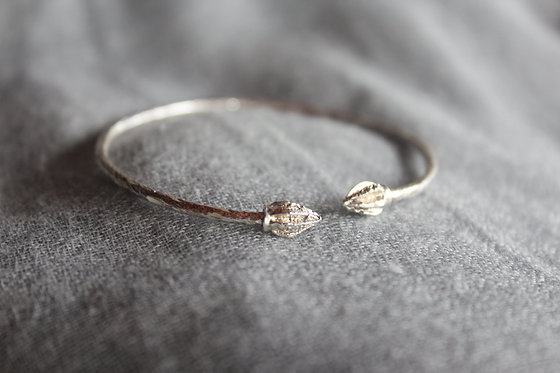 Sterling Silver Cocoa Head (Caribbean) Bracelet