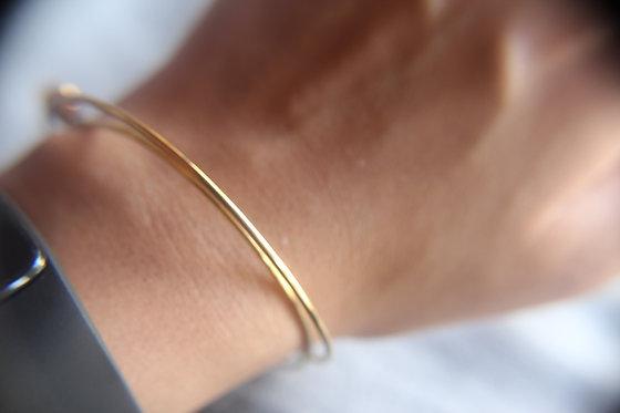 The Minimal Gold Bangle (Bracelet)