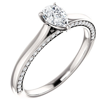 The Accented Pear Solitaire