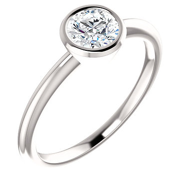 The Bezel Solitaire (Round)