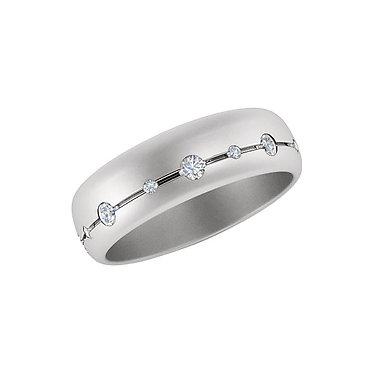 Bezel Wedding Ring