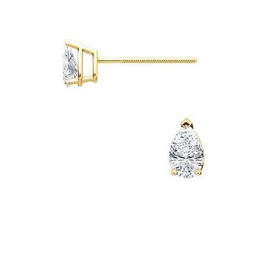 The PEAR Diamond Earrings