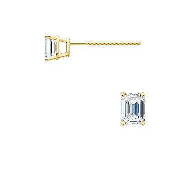 The EMERALD Diamond Earrings