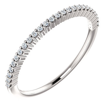 Prong Set Wedding Ring