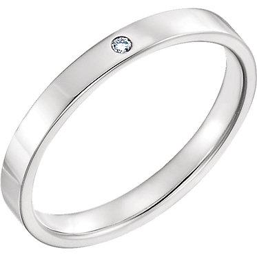 The Delicate Flat DIAMOND Ring