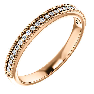 The Milgrain Wedding Ring
