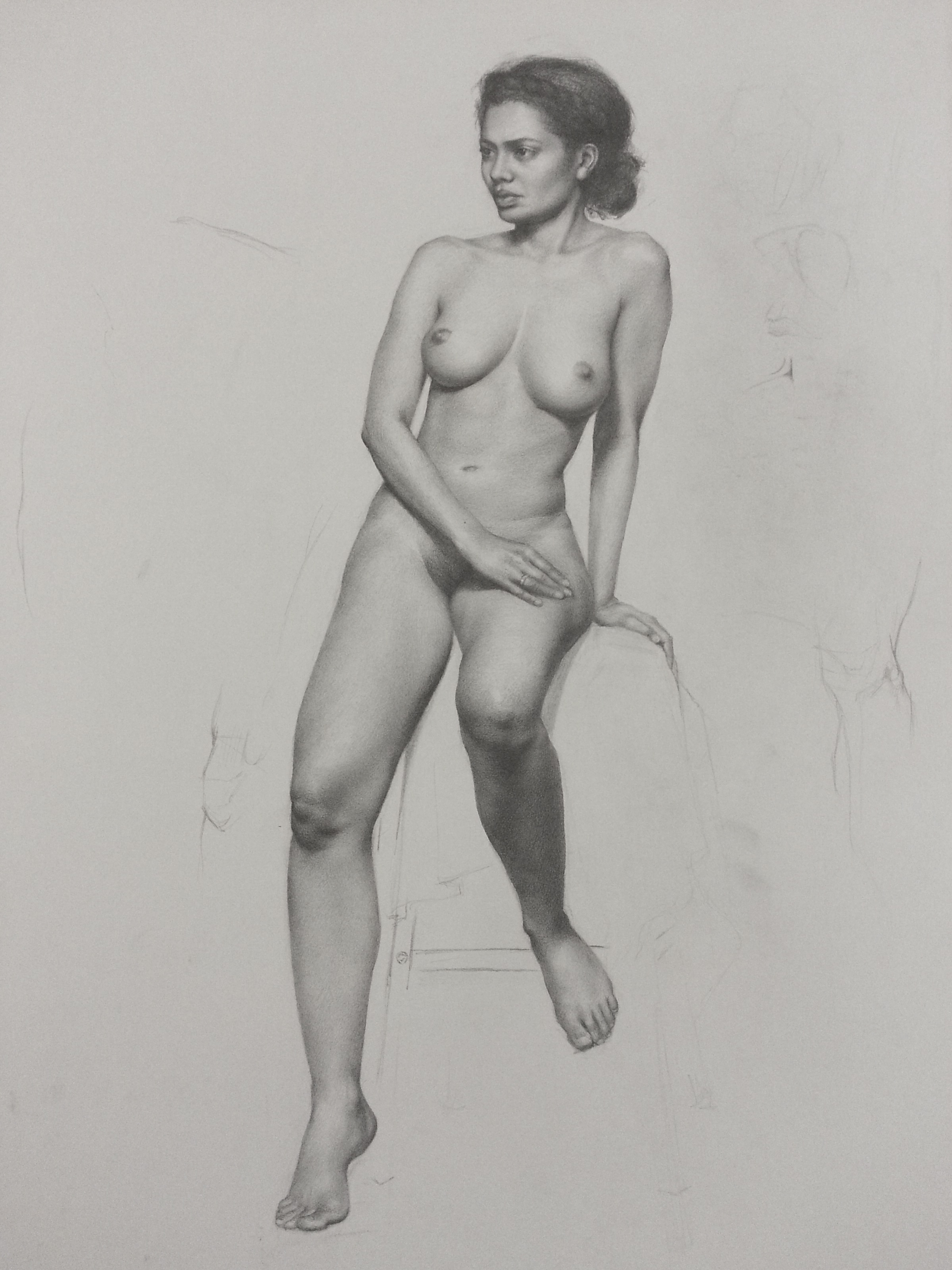Female Figure Study, Toni Ann