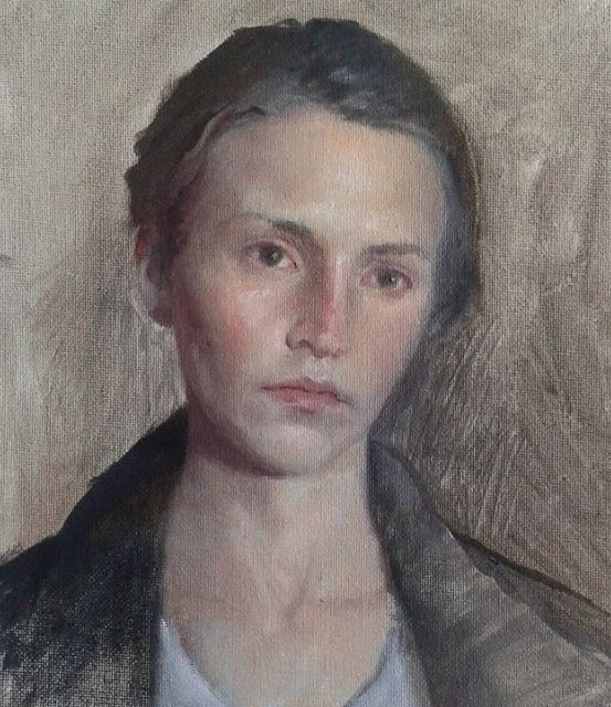 Self Portrait, age 33