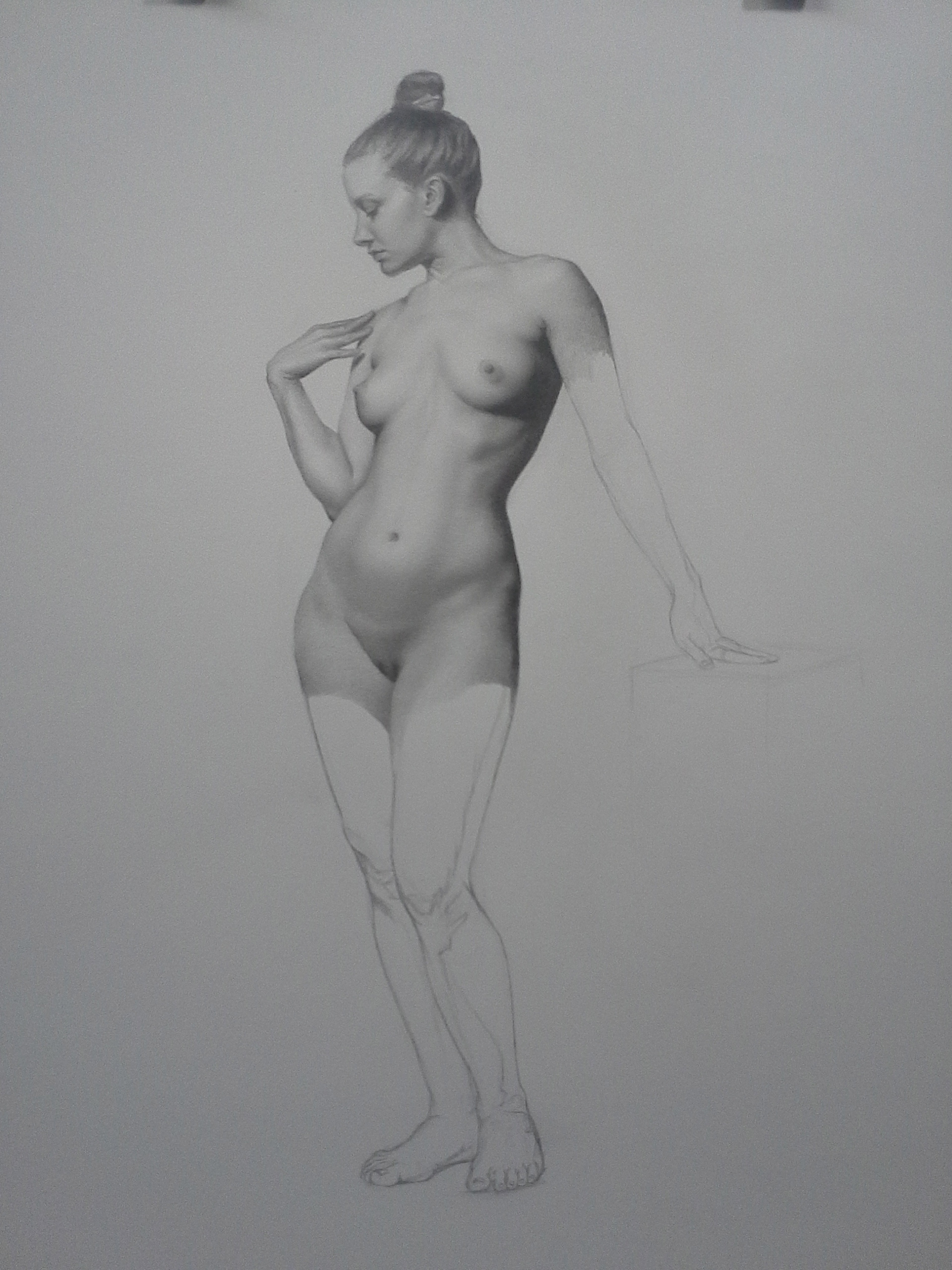 Female Figure Study, Sarah