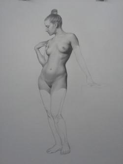 Female Figure Study, Sarah