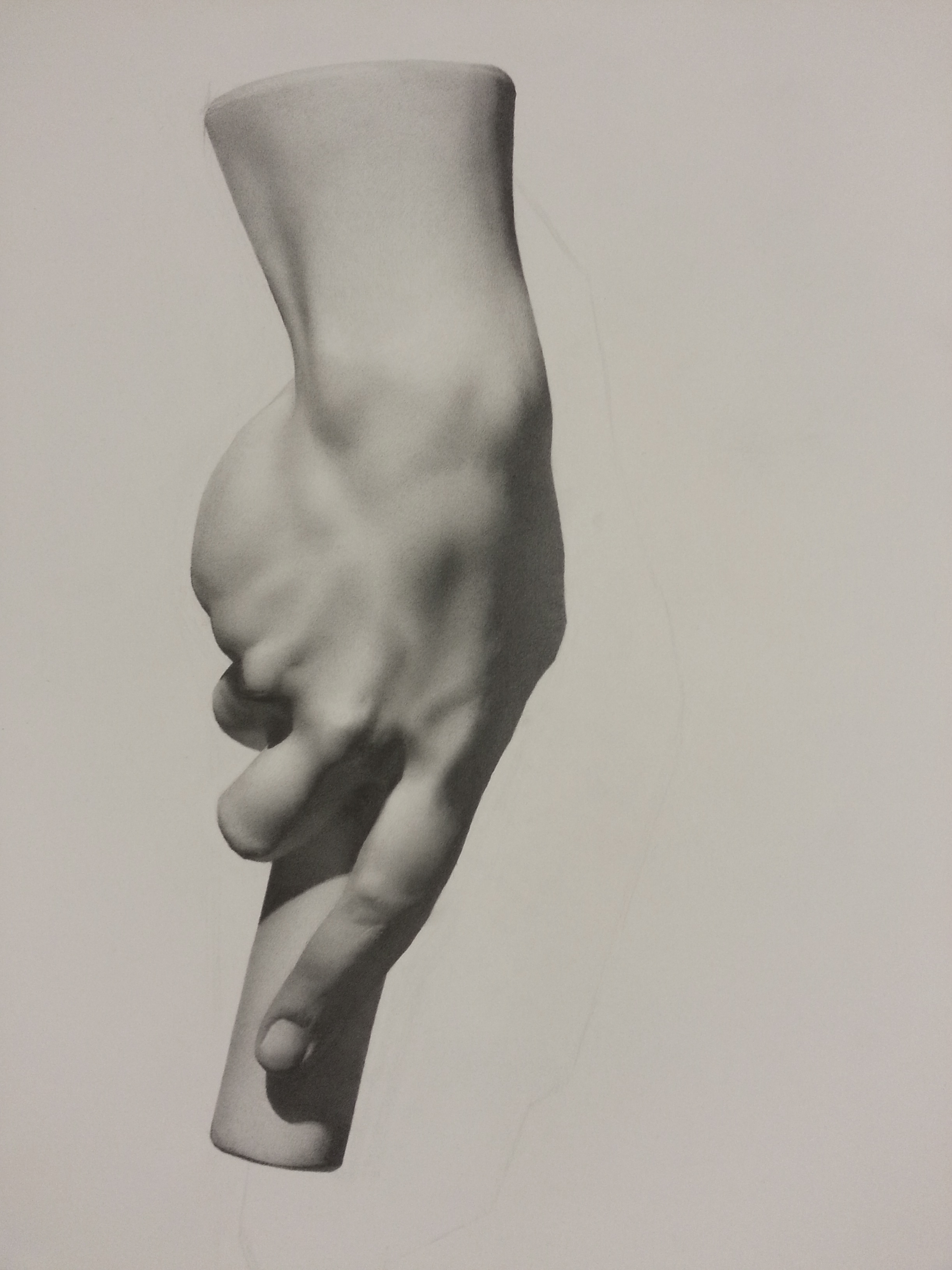 untitled male hand with pole