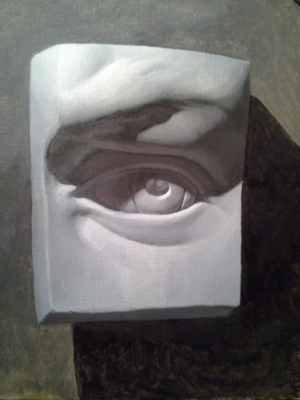 untitled, cast eye