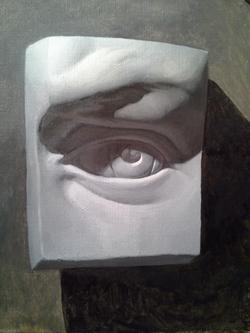 untitled, cast eye