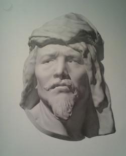 Nubian Man, after Carpeaux
