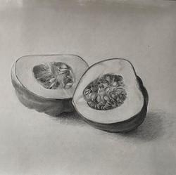 Acorn Squash, halved
