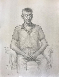 Chuck, Seated