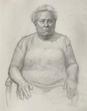 Rebecca, Seated