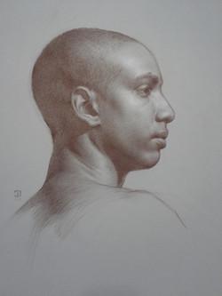 Study of Juan Michael in Profile